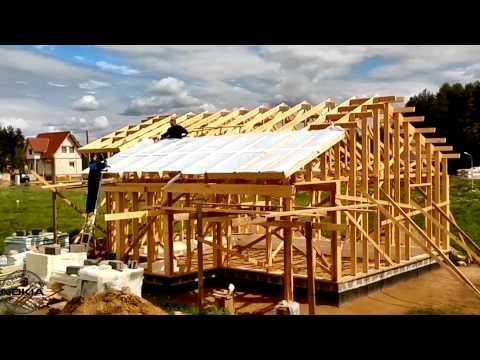 видео: Строим дом своими руками и своими силами (часть 8)
