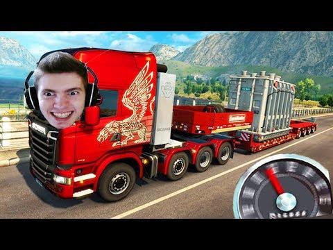 A MAIOR CARGA de CAMINHÃO!!! - Euro Truck Simulator 2