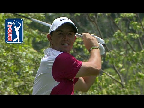 Rory McIlroy's booming 394-yard drive at Travelers
