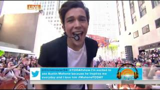 Austin Mahone What About Love Today Show 2014
