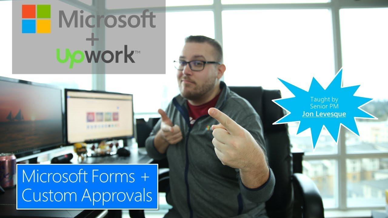 Microsoft Flow Approval Workflow with Microsoft Forms – Jon
