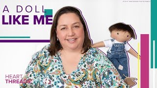 Woman makes dolls for kids with scars, missing limbs, and other conditions