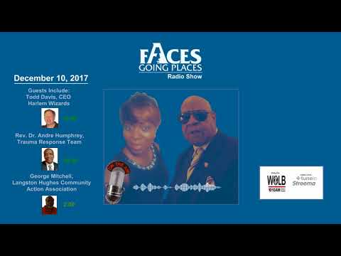 Faces Going Place Radio Show December 10th