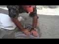 Installing a Mosaic Tile Design