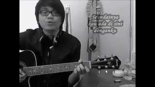 Dygta Kerna Ku Sayang Kamu Acoustic Cover by Dzul Izzat with Chords Tutorial