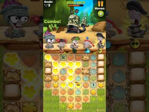 Best Fiends BOOT CAMP 1 Level 4 walkthrough ios android gameplay HD