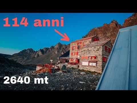 NOTTE In RIFUGIO Che Ha 114 ANNI A 2640 Mt - Giro Del Viso (parte 1)