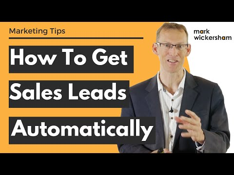 How To Get Sales Leads Automatically