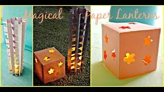 *Kids Crafts*: Cool Nightlight Paper Lanterns!