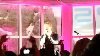 """Ed Sheeran auf der Zugspitze - LIVE-Konzert: """"I See Fire"""""""