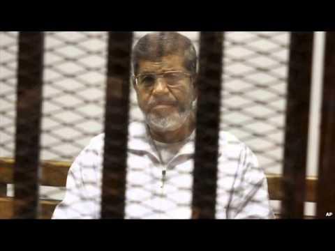 Egypt's ousted President Morsi faces first verdict