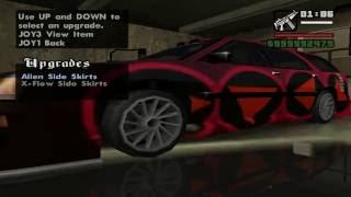 Cara Modifikasi Mobil di GTA San Andreas