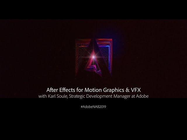 After Effects for Motion Graphics and VFX | Adobe Creative Cloud