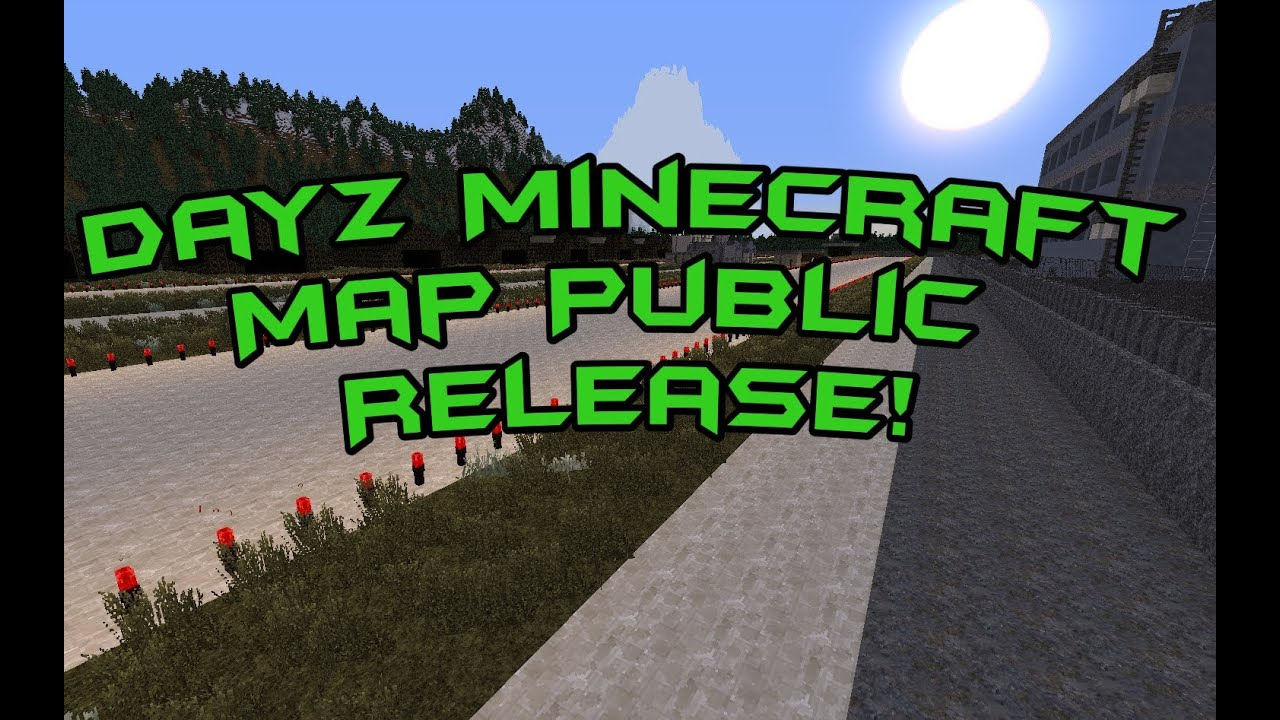 Dayz minecraft map public releasedownload youtube dayz minecraft map public releasedownload sciox Image collections
