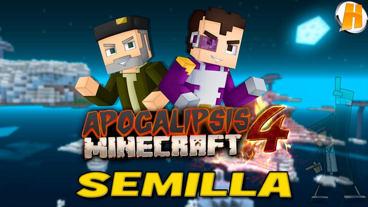 Descarga Mapa De Apocalipsis Minecraft 4 Serie Willyrex Vegetta Lucreing