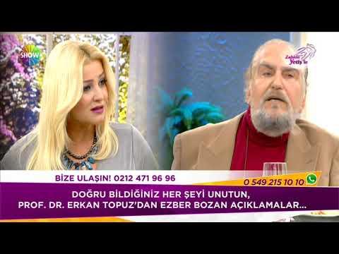 Prof Dr Erkan Topuz un Kanseri yenme hikayesi ÇOK ŞAŞIRACAKSINIZ !