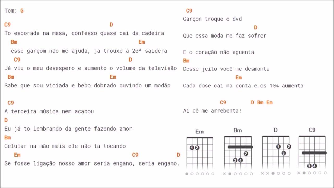 Conhecido Cifra de 10% - Maiara & Maraísa (Violão) - YouTube YI45
