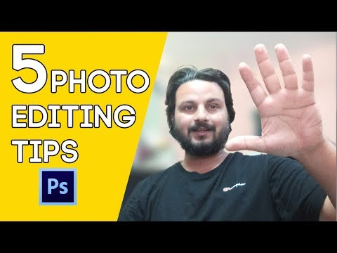 5 Photo Editing Tips | How To Edit Photos | Photoshop Tutorial thumbnail