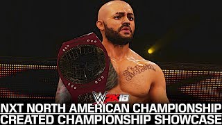 WWE 2K18 Showcase: The NXT North American Championship!