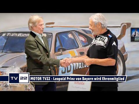 MOTOR TV22: Leopold Prinz von Bayern wird Ehrenmitglied und nimmt an der Ötztal Classic 2021 teil