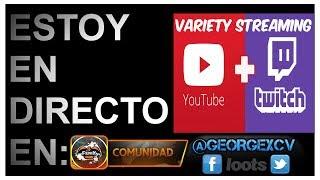 🔴Directos Random Youtube OBS | El Papagamer | Variety Streaming | #twitch Follow: @georgexcv 🔵