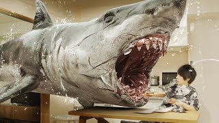 SHARK attacks my HOME!! | RATE