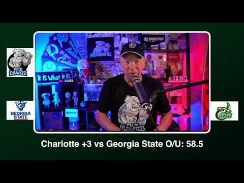 Charlotte vs Georgia State Free College Football Pick and Prediction CFB Tips Saturday 9/26/20