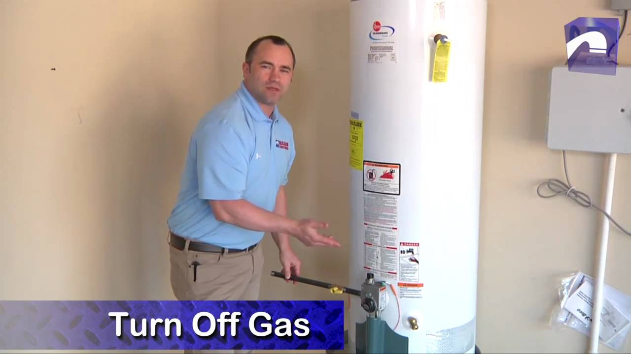 how to open water heater