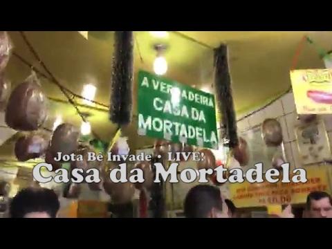 Jota Bê Invade • Casa da Mortadela (LIVE!)