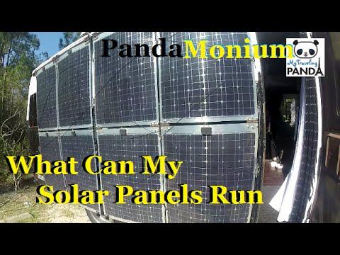 What Can My Solar Panels Run? - Rv Living Solar
