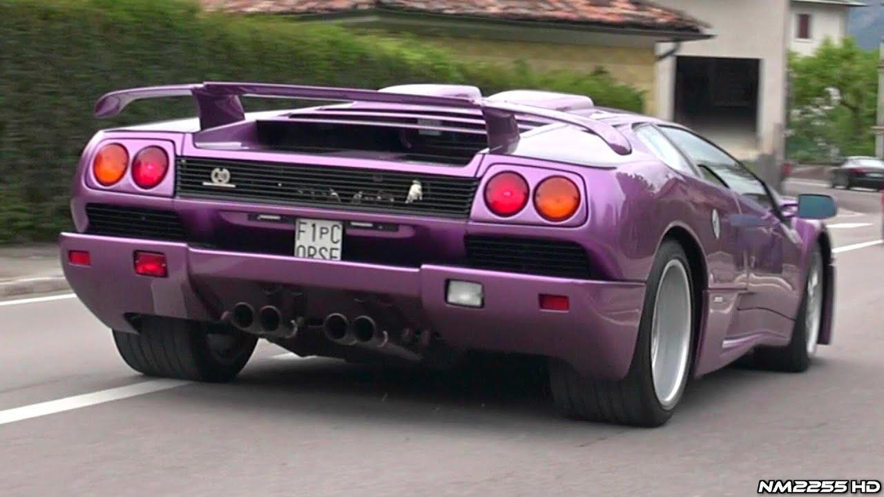 Lamborghini Diablo Wallpaper Hd Insanely Loud Lamborghini Diablo Se30 Special Edition With