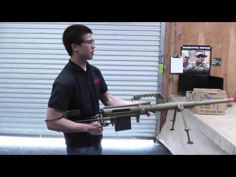 Airsoft GI Uncut - Beta Project Full Metal M200 Bolt Action Sniper Rifle Airsoft Gun (TAN)