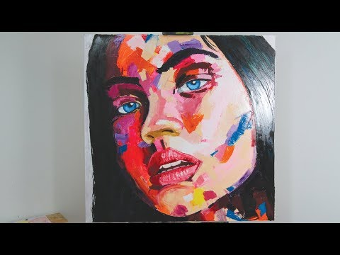How to Create a Francoise Nielly Inspired Portrait