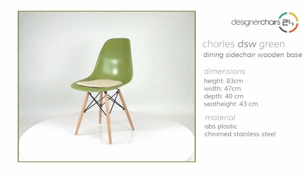 Eames chair dining room