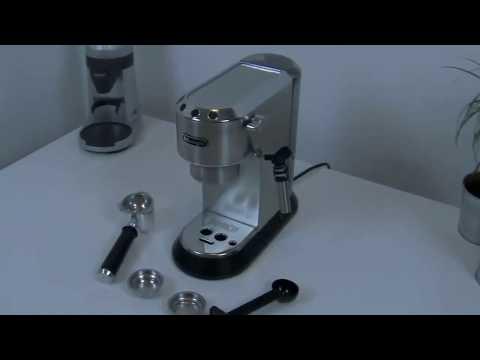 DeLonghi Dedica EC 685.M Espresso Siebträgermaschine  Review