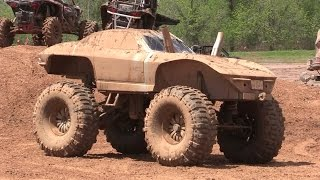 "Mud Corvette On 54"" Mud Tires"