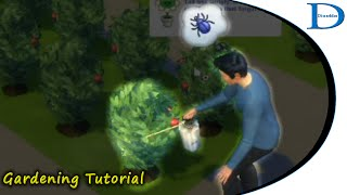 08 The Sims 4 - Gardening Tutorial - 08 Spraying For Bugs