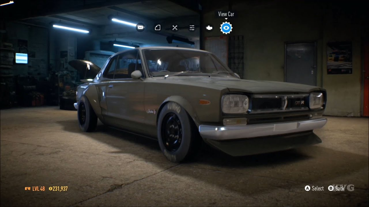 need for speed 2015 - nissan skyline gt-r kpgc10 1971 - customize
