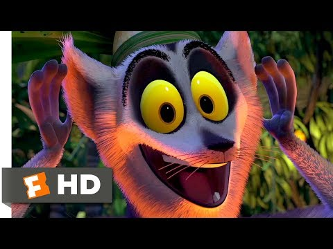 Madagascar (2005) - I Like to Move It Move It Scene (5/10) |