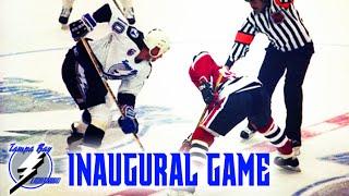 Tampa Bay Lightning Inaugural Game 1992 Vs Chicago Blackhawks  Full Game