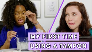 I Try Tampons for the First Time | Seventeen Firsts