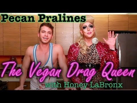 Pecan Pralines - The Vegan Drag Queen - Jared Bradford
