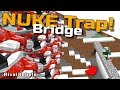 Nuke Trap vs TNT Turret Wall of Death Minecraft