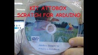Placa do Kit AttoBox e Scratch for Arduino