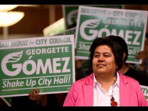 Georgette Gómez vows change on San Diego City Council
