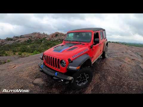 2021 Jeep Wangler 4Xe First Drive