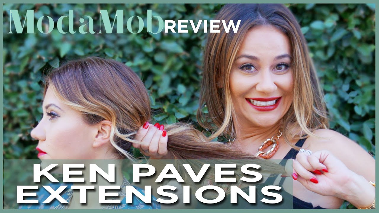 Ken Paves Hairdo Extensions Product Review Youtube