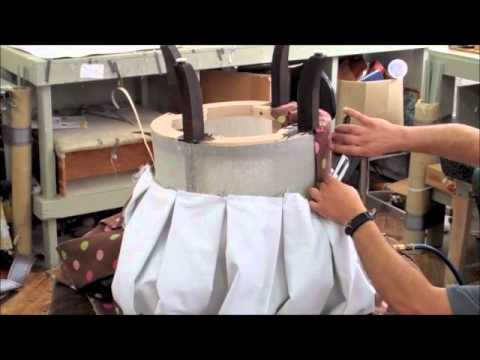 Upholstery: The Vanity Chair, Dorothy Draper Collection - YouTube