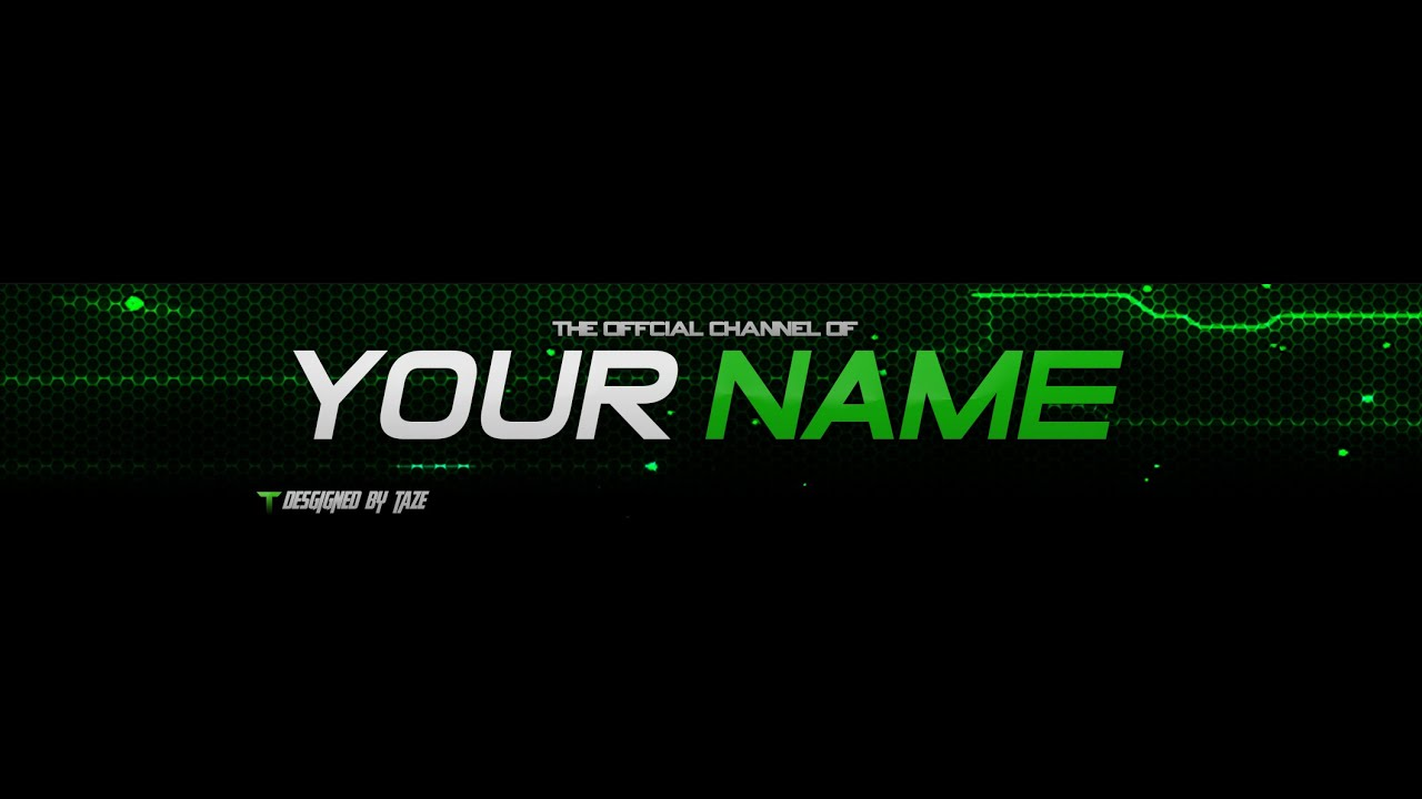 Youtube Template Banner. youtube banner template photoshop jpg ...