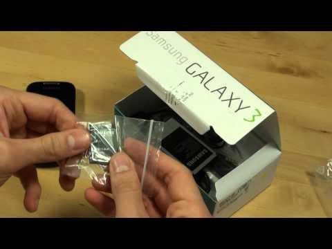 Samsung I5800 Galaxy 3 Test Erster Eindruck